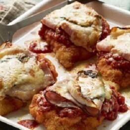 chicken parmigiana ham recipe