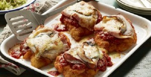 chicken parmigiana ham recipe