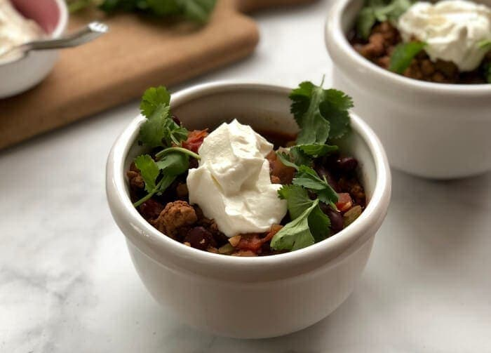 Easy Turkey Chili with Beans Recipe_8