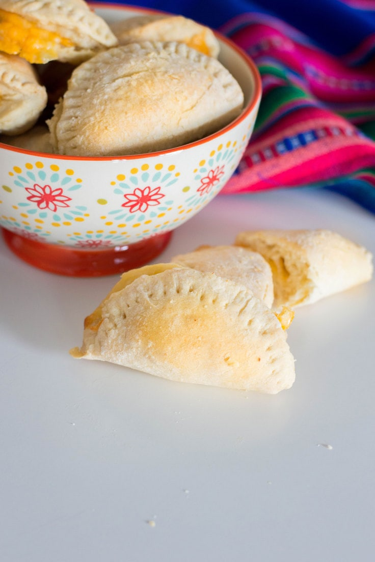 Cheese empanadas for the ultimate win! Check out our easy-to-follow for the tastiest cheese empanadas... and you won't even break a sweat! #empanadas