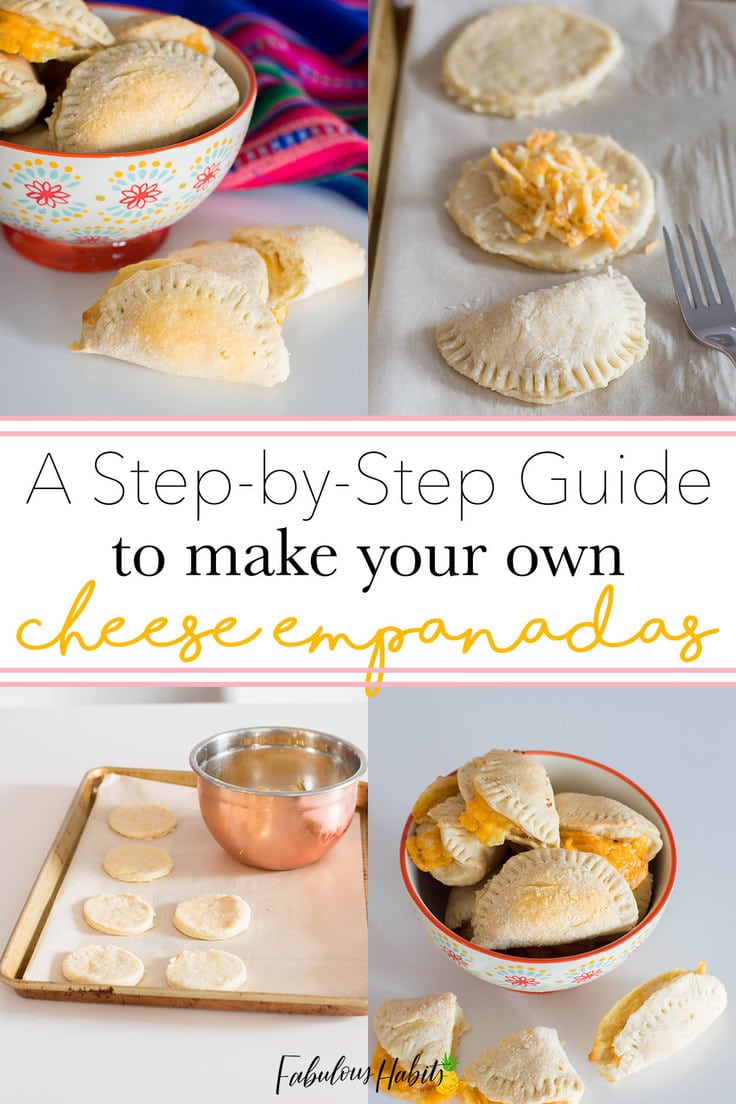 Our surefire recipe for the tastiest cheese empanadas. Be sure you check out our easy, no sweat step-by-step guide! #empanadarecipe