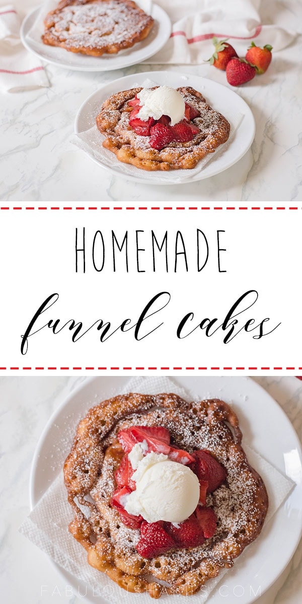 Learn how to make this Homemade Funnel Cake recipe with our simple step-by-step instructions. You know what? No special tools required! It's really easy-peasy!