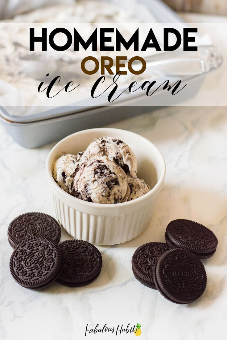 This Oreo No Churn Ice Cream is THE best Oreo ice cream to make at home. Guess what? You don't need a fancy ice cream maker to whip it up. Impress your family with this amazing dessert that only takes 4 ingredients to make!