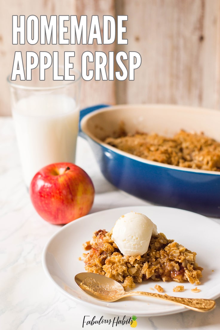 Apple Crisp is the epitome of the autumn season. This sweet treat is best served warm, with a hefty scoop of vanilla ice cream. Try out our recipe today!