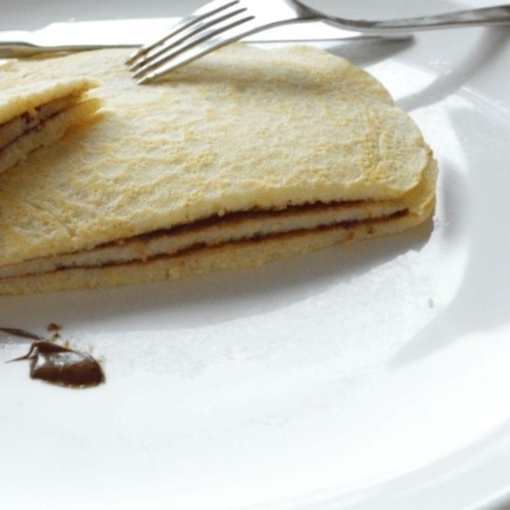 Nutella Crepes: Light & Fluffy Dessert