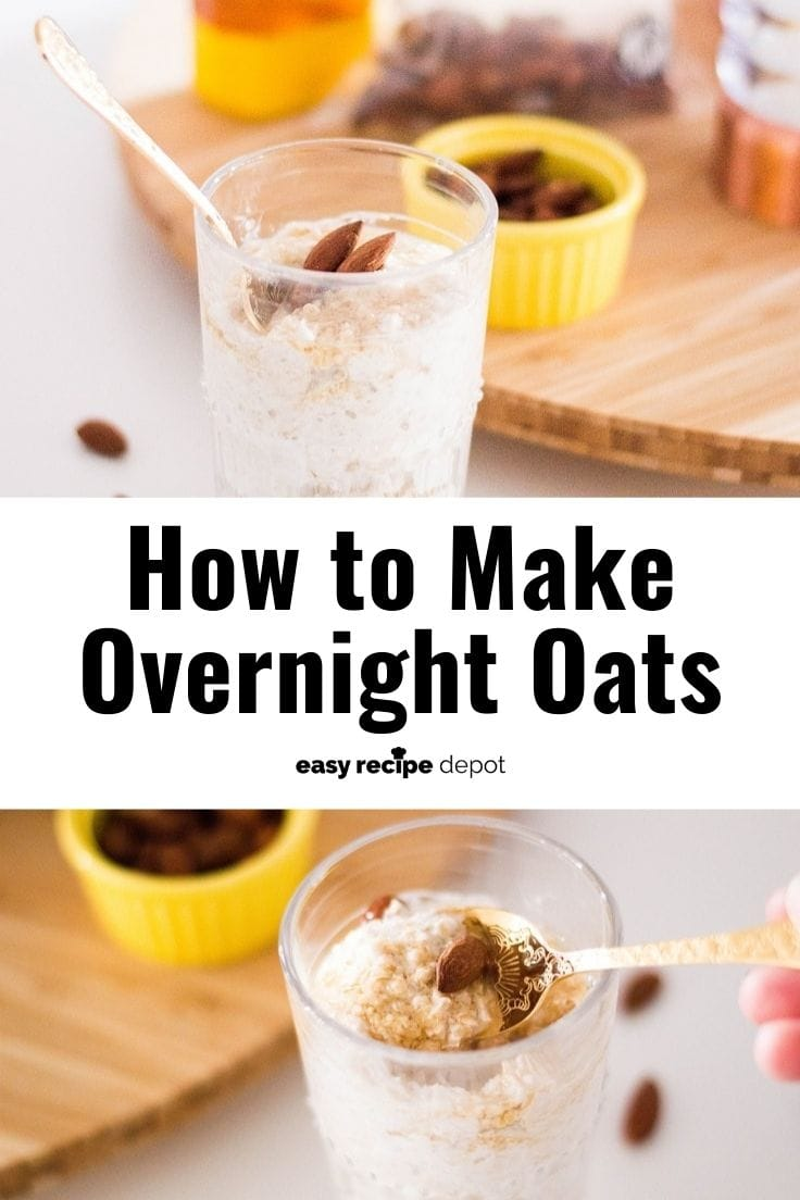 How to make overnight oats.